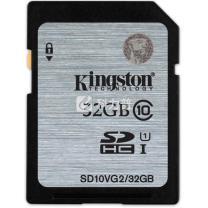 金士顿 Kingston SD存储卡 32GB UHS-1 Class10 80MB/s