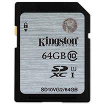 金士顿 Kingston SD存储卡 64GB  UHS-1 Class10-80Mb/s