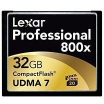 闪迪 SanDisk CF存储卡 32GB 至尊极速 800X 读速120MB/s