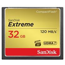 闪迪 SanDisk CF存储卡 SDCFXS-032G-Z46 32GB  至尊极速 120MB/S