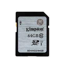 金士顿 Kingston SD存储卡 SD10VG2 64GB UHS-I Class10-45Mb/s