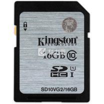 金士顿 Kingston SD存储卡 16GB UHS-1 Class10-80MB/s