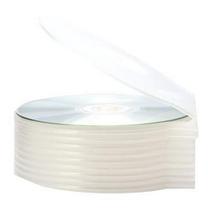 国产 圆形光盘盒 (白色) 50片/包 厚度4mm