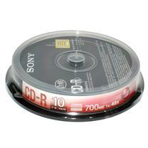 索尼 SONY 光盘 10片/筒 CD-R 48X 700MB