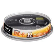 索尼 SONY 光盘  10片/筒 DVD-R 16X 4.7G