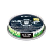 索尼 SONY 光盘 10片/筒 DVD+RW 4X 4.7G