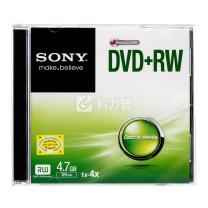 索尼 SONY 光盘 单片装 DVD+RW 4X 4.7G