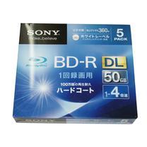 索尼 SONY 光盘  5片/筒 BD-RDL 4X 50G 蓝色激光光盘