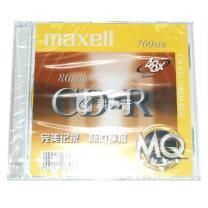 麦克赛尔 maxell 光盘 单片装彩色薄盒 CD-R 48X 700MB