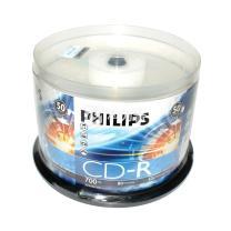 飞利浦 PHILIPS 光盘 50片/筒 CD-R 52X 700MB