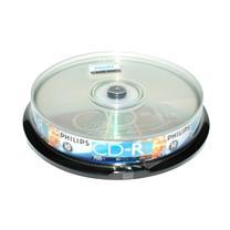 飞利浦 PHILIPS 光盘  10片/筒 CD-R 52X 700MB