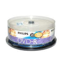 飞利浦 PHILIPS 光盘  25片/筒 DVD-R 16X 4.7G