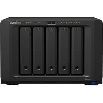 群晖 Synology NAS网络存储服务器 DS1517+(8GB) 内存 四核心 5盘位 (配西数_WD40EFRX_4T*5) (仅限广东)