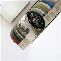 安尚 actto 光盘收纳盒 CDC-50K 50片装 CD CD/DVD碟片包防盗锁标签贴
