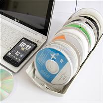 安尚 actto 光盘收纳盒 CDC-120 120片装 带防盗锁cd收纳