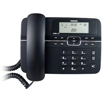 飞利浦 PHILIPS 电话机 CORD118 (黑色)