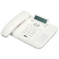 集怡嘉 电话机 6025 办公座机家用电话机 (白色)