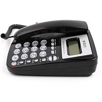 晨光 M&G 普惠型经典水晶按键电话机 AEQ96761 (黑色)