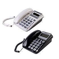 晨光 M&G 标准型经典摇头水晶按键电话机 AEQ96755 (黑色)