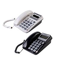晨光 M&G 标准型经典摇头水晶按键电话机 AEQ96755 (白色)