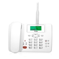 TCL 无线插卡电话机 CF203C 支持电信手机卡