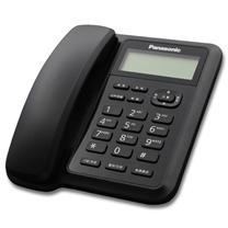 松下 Panasonic 电话机 KX-TS318CN (黑色) 带分机口 免电池