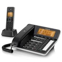 摩托罗拉 MOTOROLA 无绳录音电话子母机 C7501RC