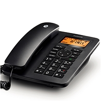 摩托罗拉 MOTOROLA 插卡录音电话机 CT111C (黑色) (DC)