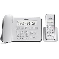 飞利浦 PHILIPS 无绳电话机 DCTG192 (白色) 一拖一