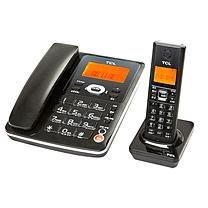TCL D61子母 电话机(黑色)