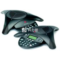 宝利通 Polycom 音频会议电话机 SoundStation 2 EX 扩展型 (带扩展麦克风)