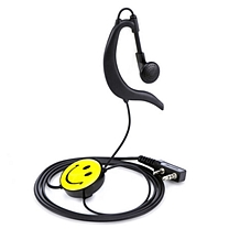 国产 耳挂式对讲机耳机  (建伍头)