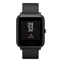 华为 HUAWEI WATCH智能手表 (曜石黑) 动感系列 黑色平尾表带
