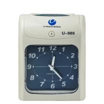 优玛仕 U-mach 纸卡考勤钟(考勤机) U-980Z 大型钟面显示