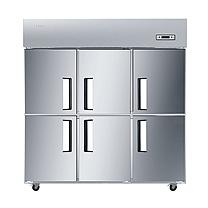 海尔 Haier 立式双温六门商用冷柜 SL-1448C3D3