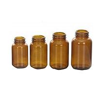 国产 125ml 高硼硅棕色广口试剂瓶(棕色)