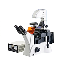 微仪三目倒置荧光显微镜 WYS-37XBY