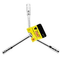 锴达(KATA)三叉扳手Y型套筒轮胎扳手 外六角扳手 机修工具8-10-12mm KT81012  (DC)