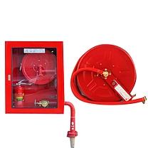 腾驰(CT)消防卷盘20米/25米 消火栓箱自救卷盘 消防软管卷盘消防水管水带 304消防栓箱卷盘配套(80*65*24)(DC)