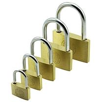 地球牌 铜挂锁 短梁 通开 60MM  (需通开请联系客服)