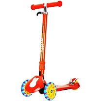 米菲(MIFFY) 儿童滑板四轮全闪车踏板车 MF2001C (橙色)