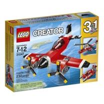 乐高 创意百变系列 螺旋桨飞机 31047