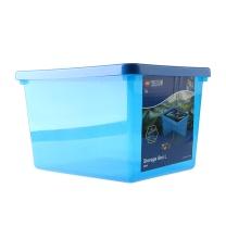 乐高 ROOM未来骑士团收纳盒 40941734 L (透明蓝色)