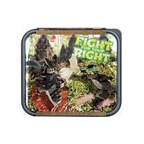 乐高 ROOM幻影忍者大电影午餐盒 40501741 (沙绿色)