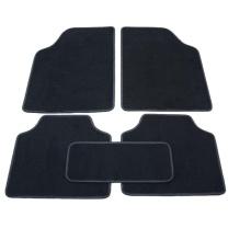 爱侬 通用绒布脚垫 T108 12毫米厚 (黑色) 购买前需匹配车型
