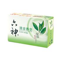 六神 Liushen 清凉香皂 125g/块  72块/箱 (绿茶+甘草)