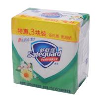 舒肤佳 Safeguard 香皂 115g/块  3块/组 24组/箱 (金银花/菊花自然爽洁型)(按组订购)