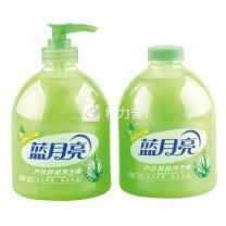 蓝月亮 bluemoon 芦荟洗手液两件套 500g+500g  6套/箱 (瓶装+瓶补)