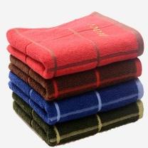 洁丽雅 grace 纯色刺绣毛巾 6300-1A 74*34cm
