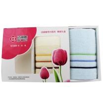 洁丽雅 grace 纯棉情侣毛巾两条装 6443  (套装)